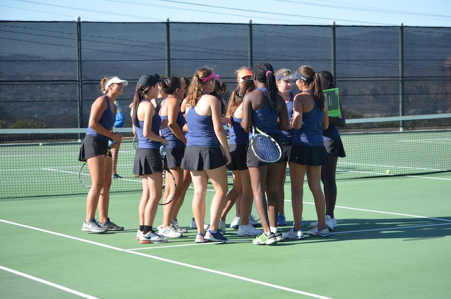Girls' Varsity Tennis CIF Championship Journey Ends
