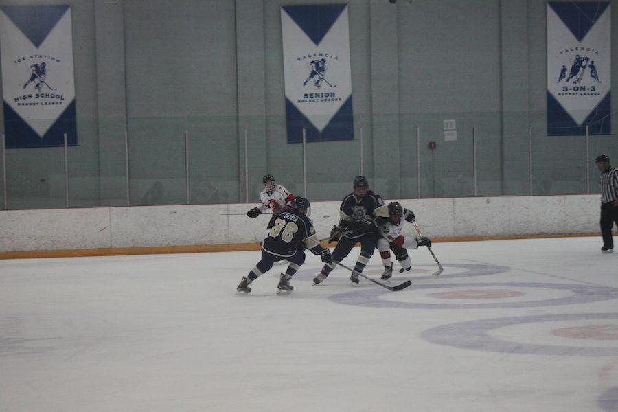 Boys hockey crush the Cougars