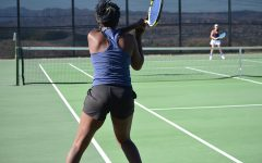 WR Girls' Varsity Tennis Defeats Saugus in Last Home Game
