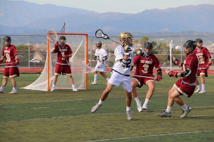 Boys Lacrosse Falls 4-3 to Oaks Christian in Double Overtime