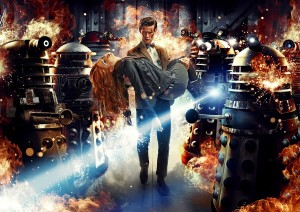 "TV review: ""Asylum of the Daleks"""