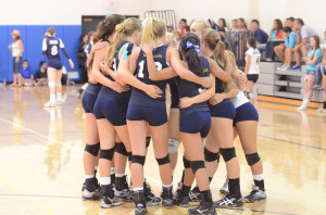 JV Girls' Volleyball brings home a win