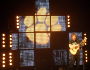 Ed Sheeran rocks the Wiltern