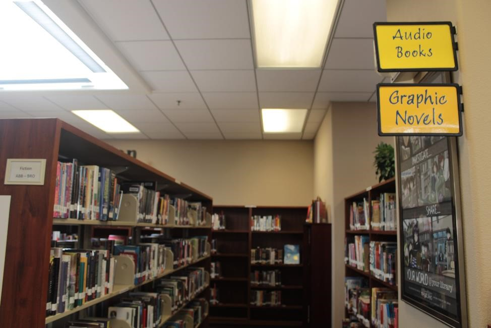 The graphic novels section at our very own library contains most of the titles listed here.