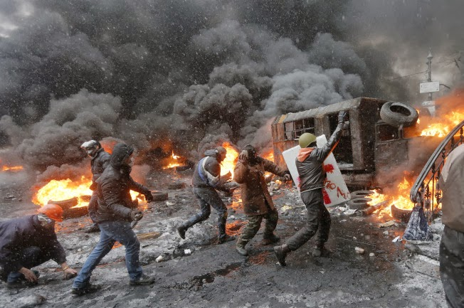 ukraine revolution the paw print