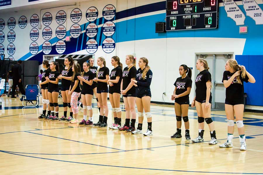 Girls' Volleyball Proudly Ends Its 2014-15 Season