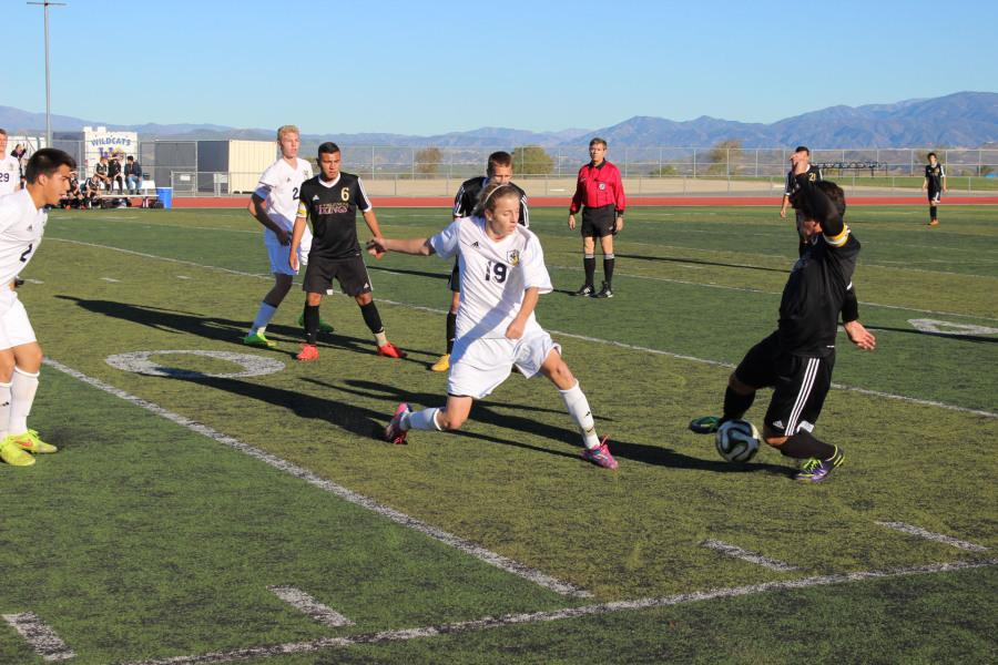 West Ranch's defense allowed only one goal from Valencia's high-powered offense.