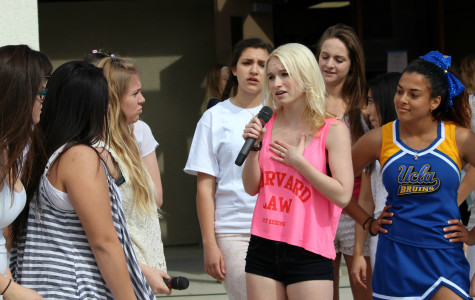 West Ranch students see a preview of Legally Blonde
