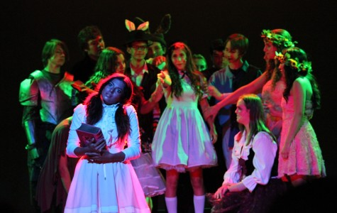 West Ranch theatre takes students on a trip to Wonderland