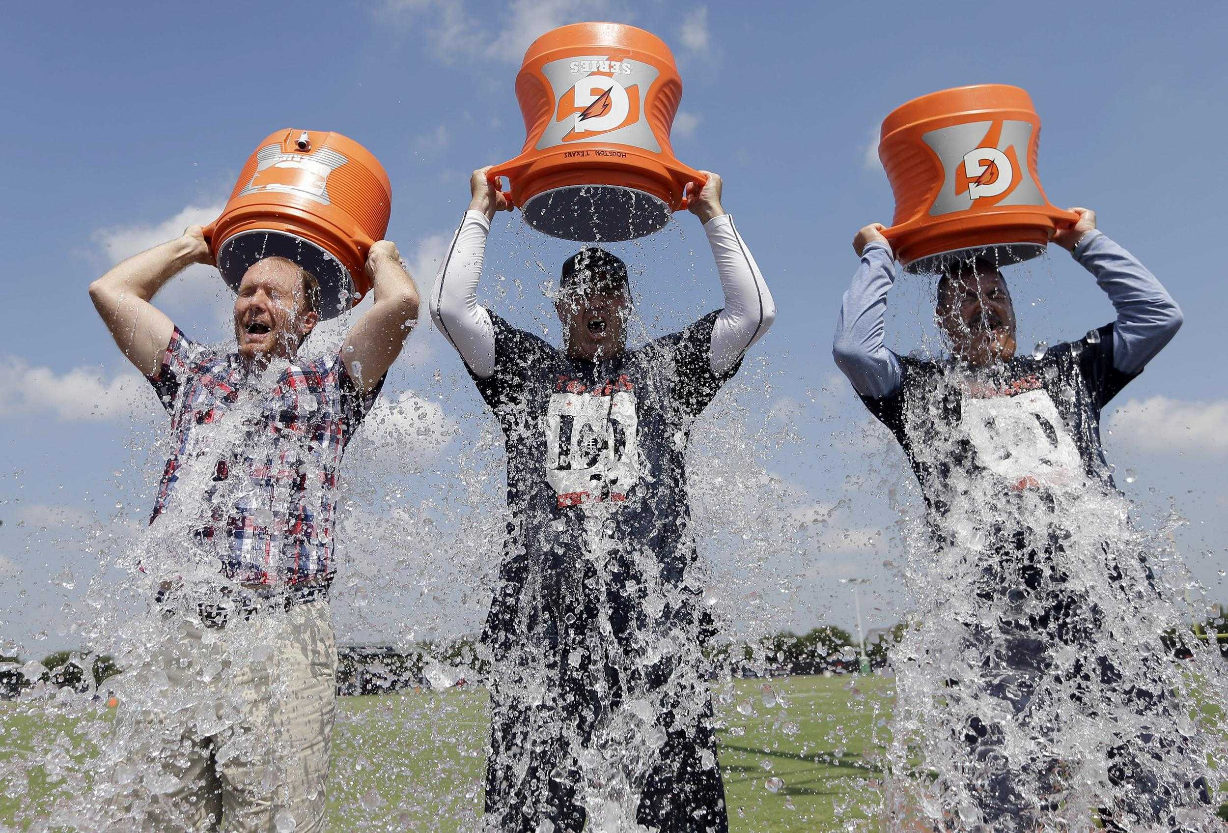 According to The Blaze, about 6 million gallons of water was used for the Ice Bucket challenge.(Provided by nbcnews.com)