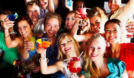 These teens have smiles on their faces; but the hidden consequences of underage drinking are not something to laugh about.