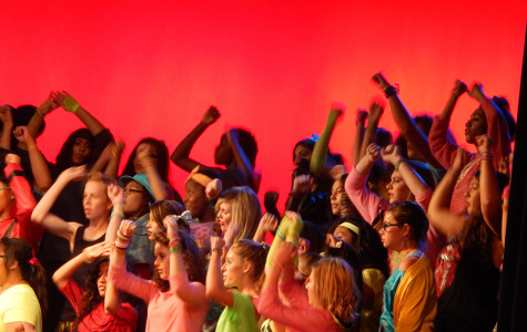 Choir Takes a Trip Back to the 80's