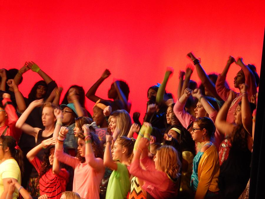 Choir Takes a Trip Back to the 80s