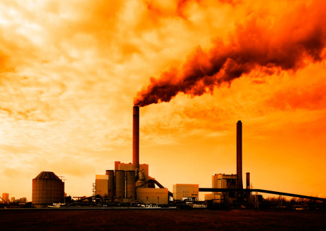 We are faced with constant emission of carbon dioxide that is difficult to stop