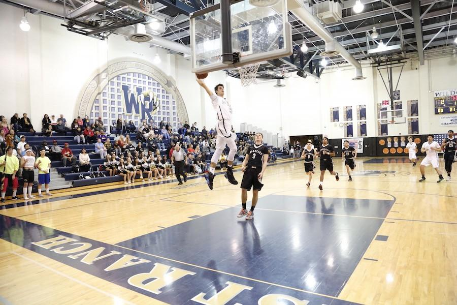 Boys' Basketball Soars Over Golden Valley