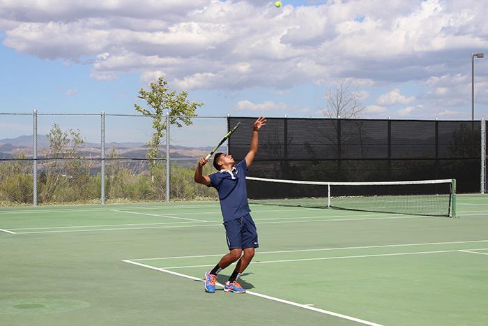 Boys' Varsity Tennis vs. Golden Valley