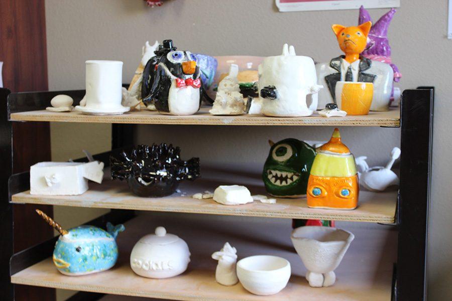 Sculptures and Ceramics Around Campus