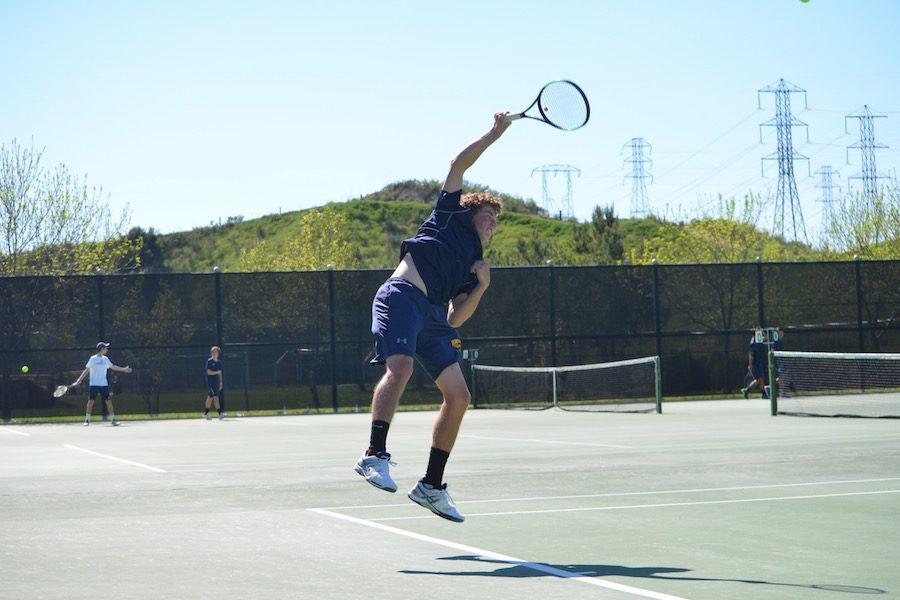 Boys' Tennis Dominates vs. Campbell Hill