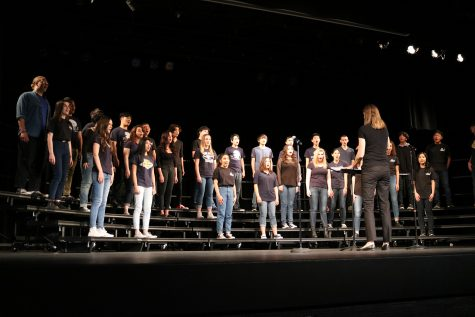 Concert choir performs Broadway songs on March 9 led by choir director, Molly Peters