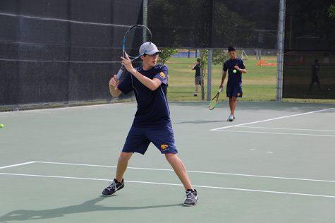 Boy's Tennis Victory Against Saugus