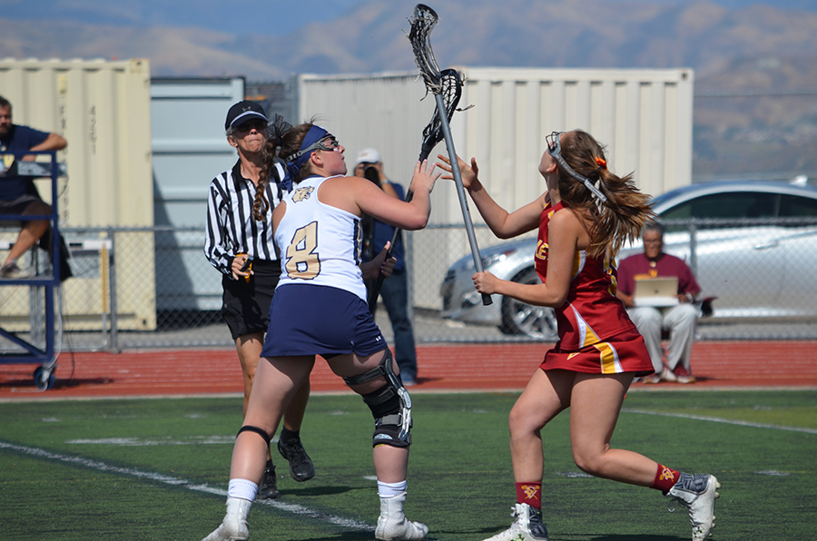 Girls Lacrosse dominates against Simi Valley