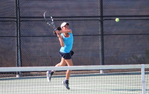 Girls' Tennis Dominates Chaminade 15-3