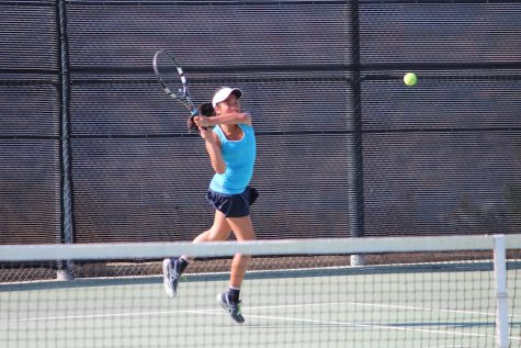 Girls' Tennis Dominates Chaminade 15-3