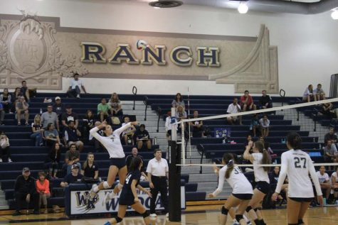 West Ranch Girls' Volleyball falls to Saugus