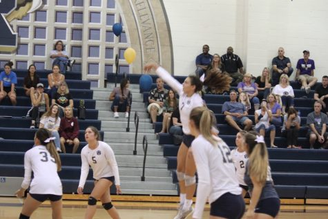 West Ranch Girls Volleyball Sweeps Golden Valley in a Dominate Win