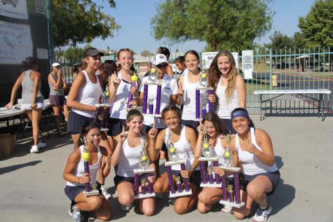 JV Tennis Wins at Fall Brawl
