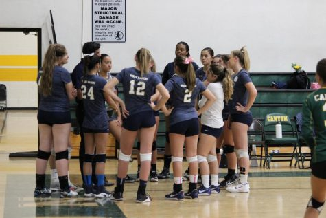 Girls Volleyball Defeats Canyon In Their Last Match Of Season