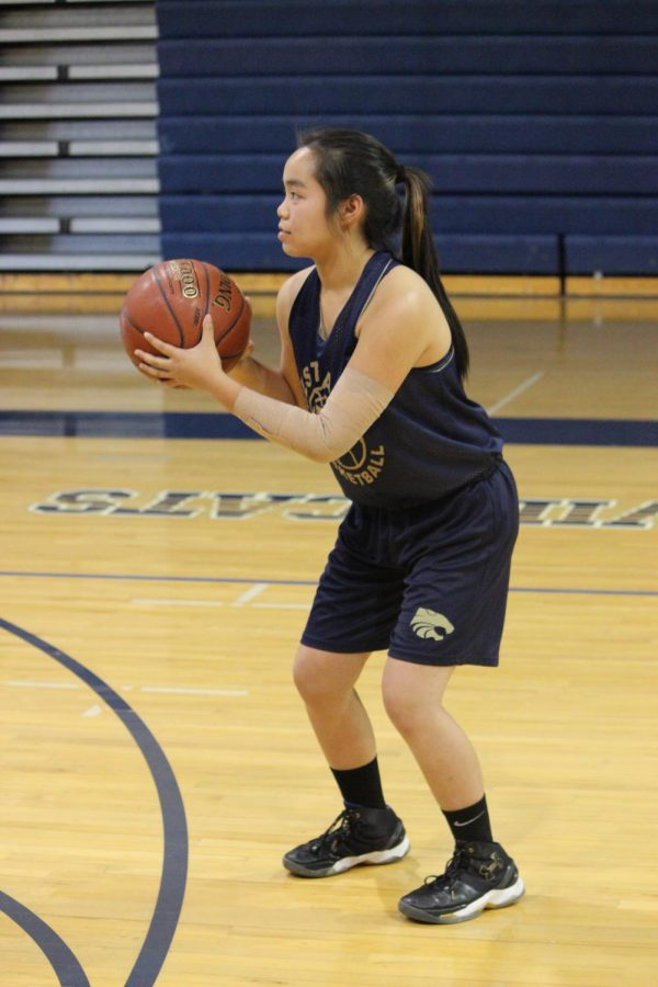 Freshman Varsity Basketball: Abbey Ang