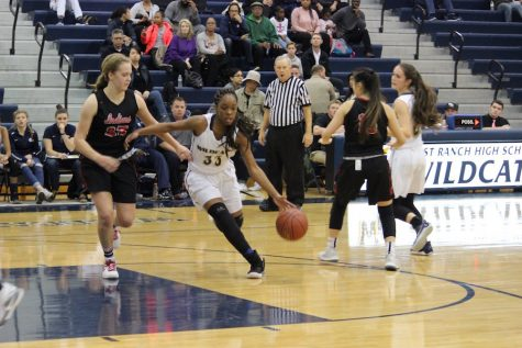 Girls' Basketball Falls to Hart 64-38 in Hard Fought Battle