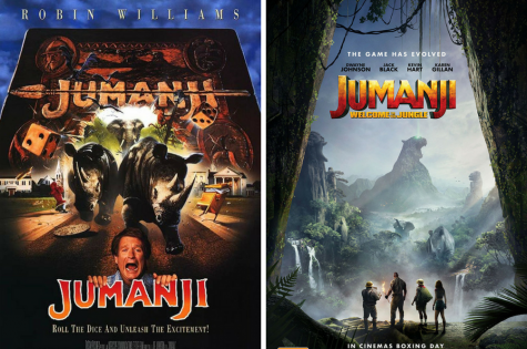 A Comparison of Jumanji: Old vs. New