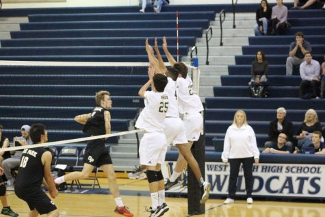 West Ranch Boy's Volleyball wins against Oak Park