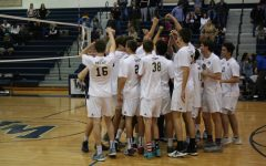 Boys' Volleyball Makes comeback against Thousand Oaks