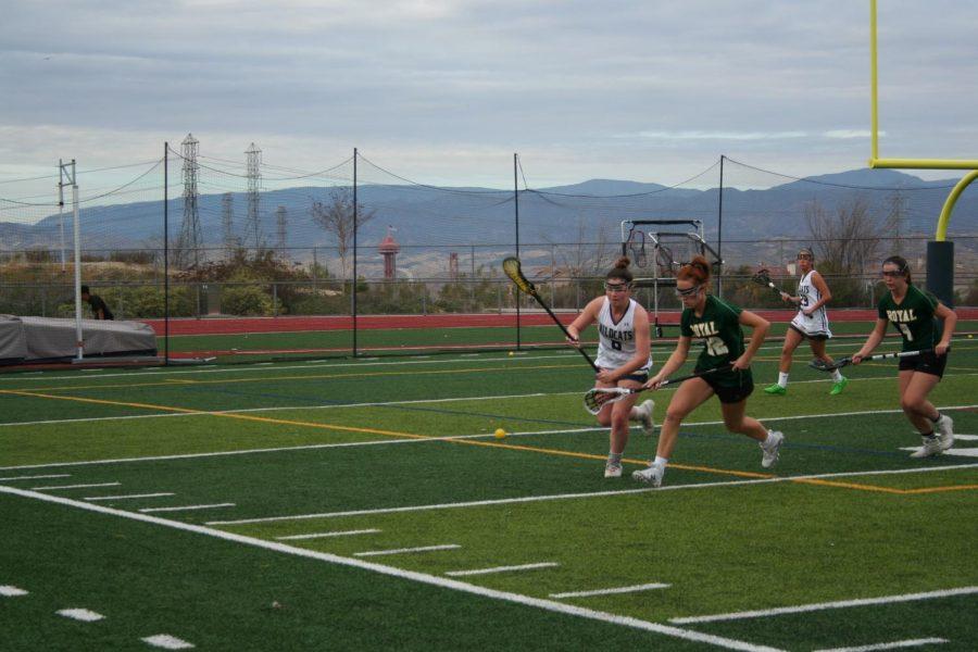 Girls Lacrosse beats Royal High School