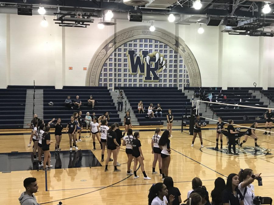West+Ranch+Girls+Varsity+Volleyball+Team+Loses+Tough+Game+to+Oak+Park