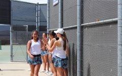 Varsity Girls Tennis Wins Tough Match against Crescenta Valley