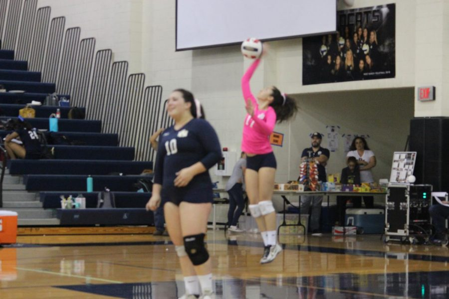 West Ranch Girl's Volleyball defeats Canyon on Senior Night
