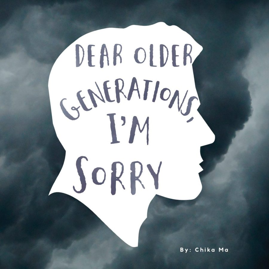 Dear Older Generations, I'm Sorry