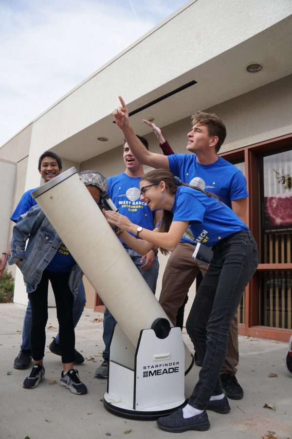 West Ranchs Astronomy Club Shoots for the Stars