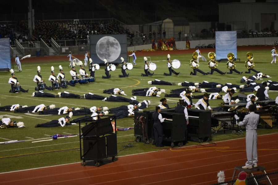 West Ranch Marching Band Brings a Classic Twist to their Competition