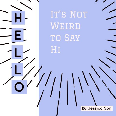 It's Not Weird to Say Hello