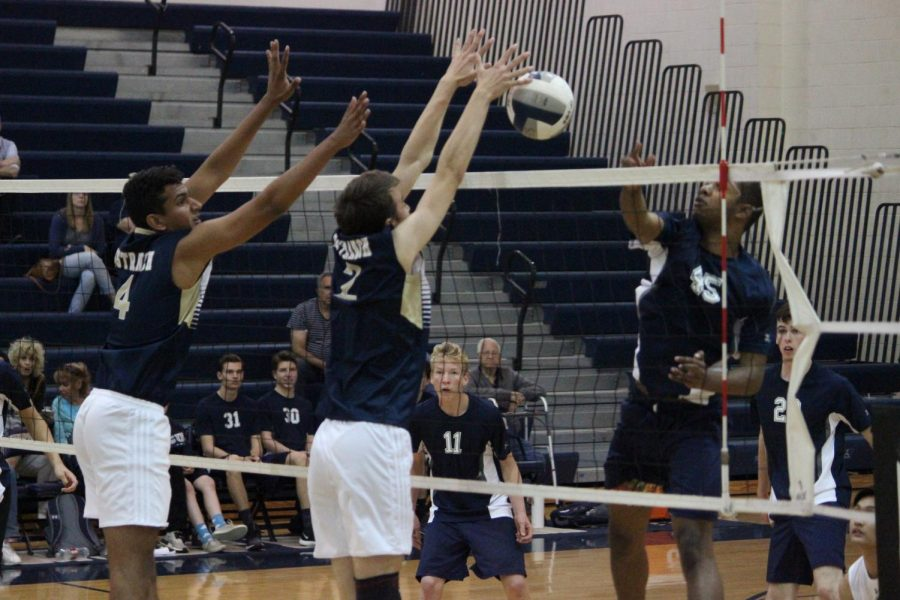 West Ranch Boys Volleyball Destroys Saugus to Continue Undefeated Record