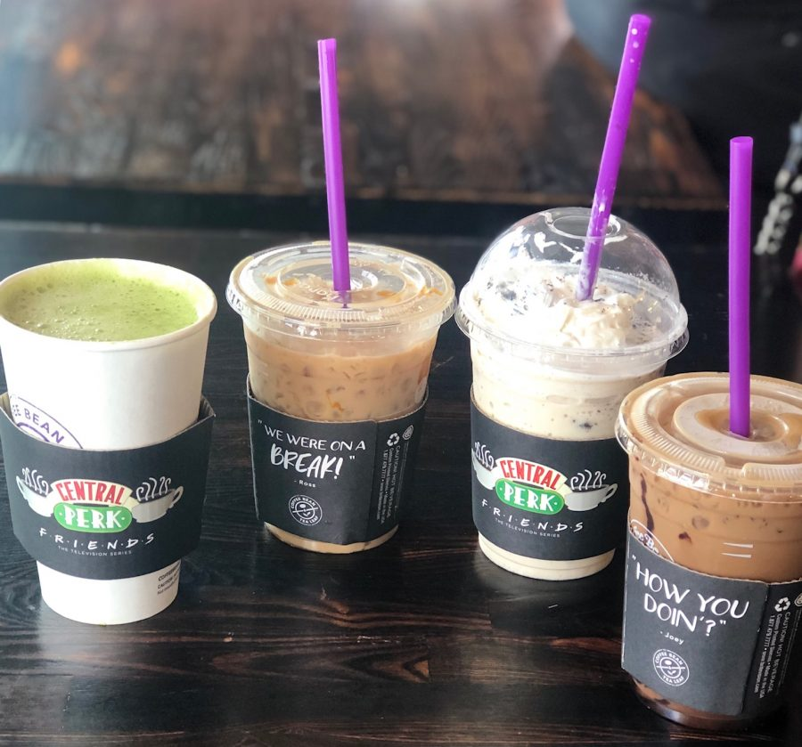 From+left%3A+%22The+Rachel%22+Matcha+Latte%2C+%22The+Chandler%22+Caramel+Coconut+Latte%2C+%22The+Phoebe%22+Cookies+and+Cream+Ice+Blended%2C+%22The+Monica%22+Midnight+Mocha+Cold+Brew