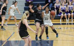 West Ranch Girls' Basketball loses in tough match up against the Valencia Vikings