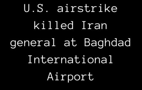 U.S. airstrike killed Iran general at Baghdad International Airport