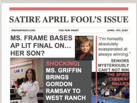 The Paw Print: April Fool's Edition 2020