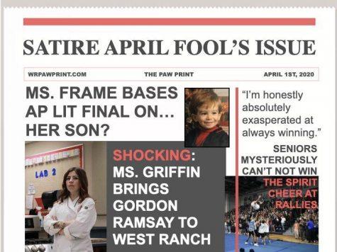 The Paw Print: April Fool